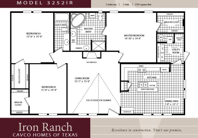 3 Bedroom Double Wide Floor Plans Bedroom Style Ideas