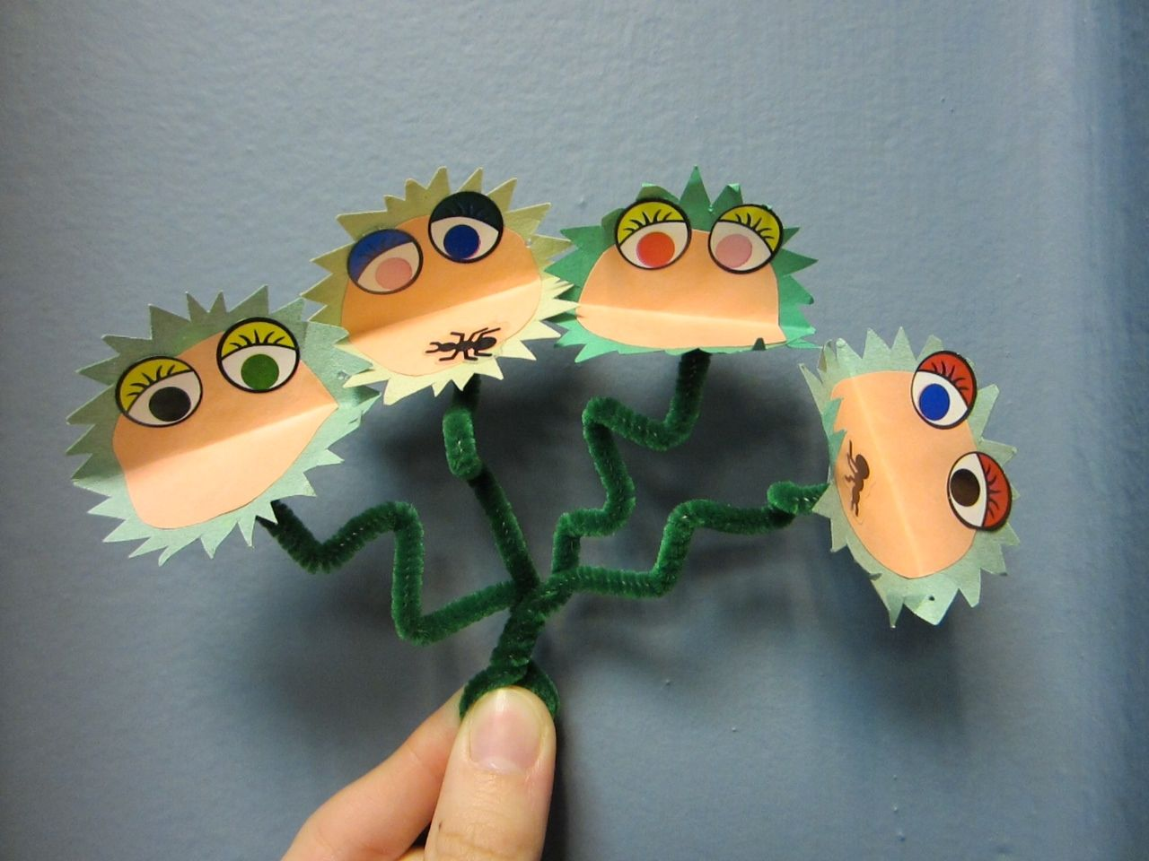 Venus Flytrap Paper Craft