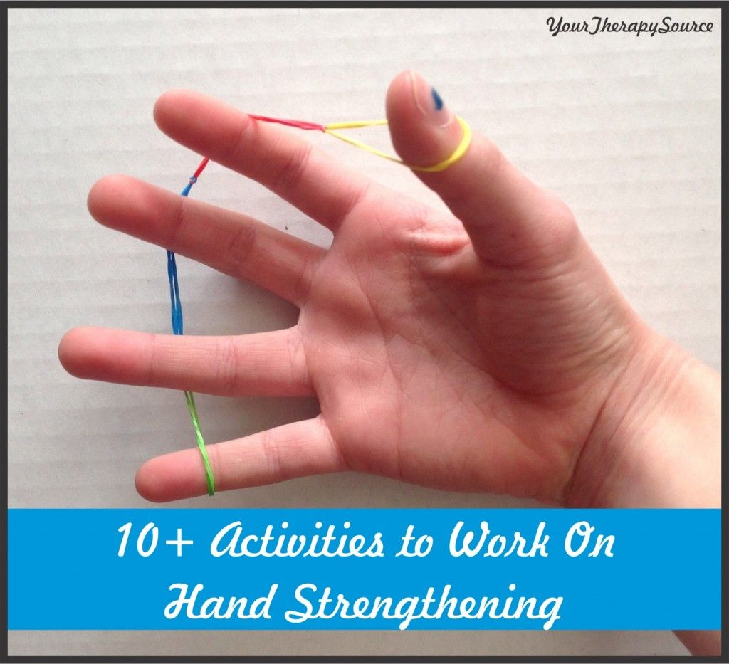 10 Activities To Work On Hand Strengthening From Yourtherapysource