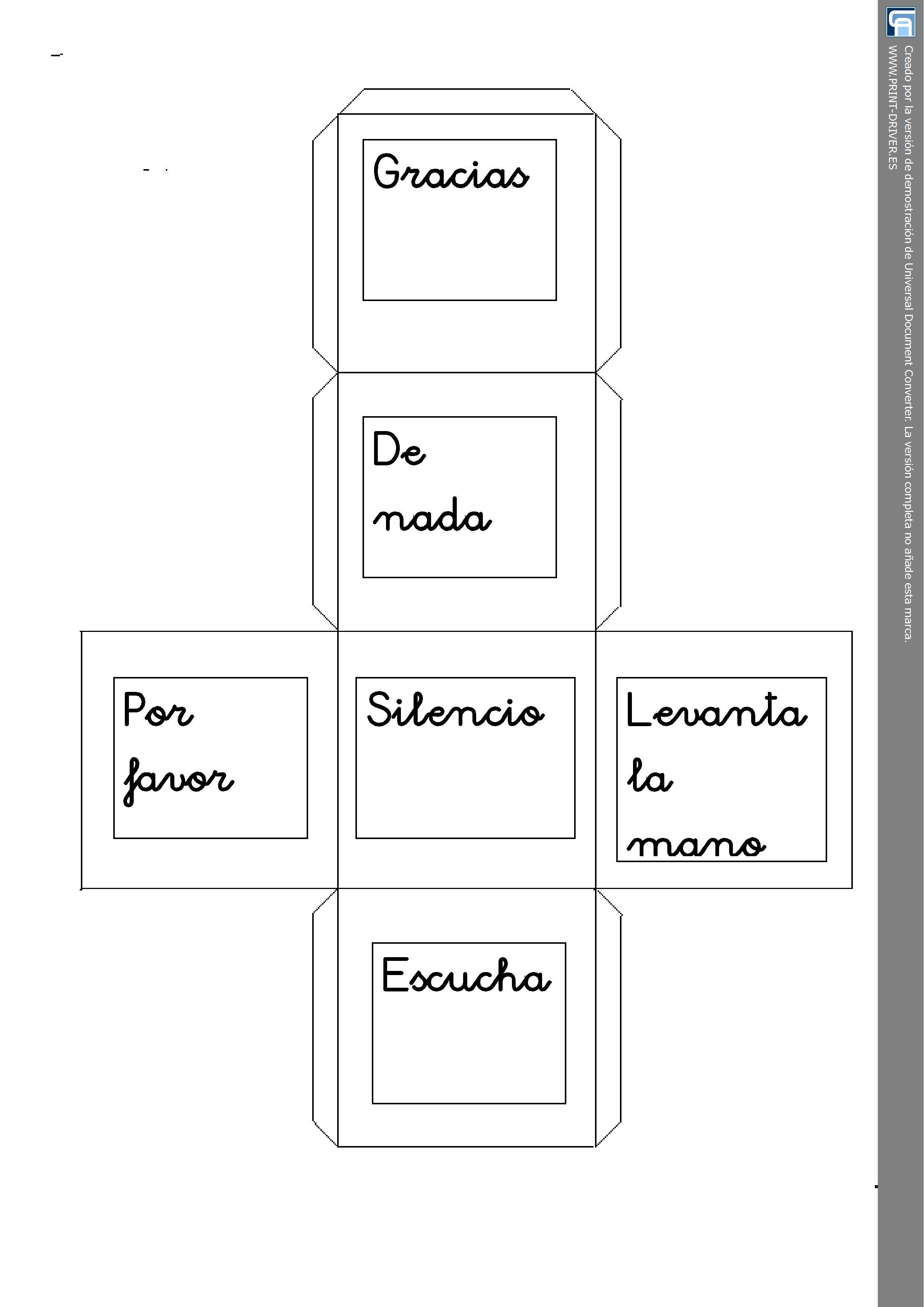 Dice Spanish Greetings Worksheet Personal Teaching