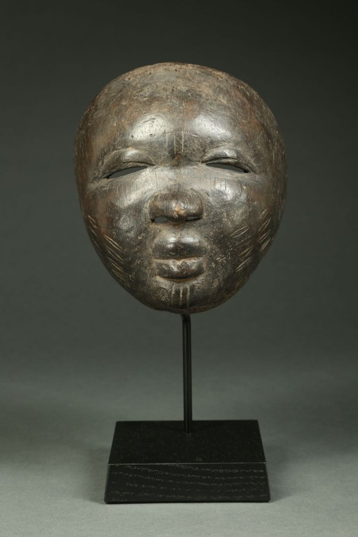 Ultra Refined and Rare Egungun Mask Provenance Ex Michael