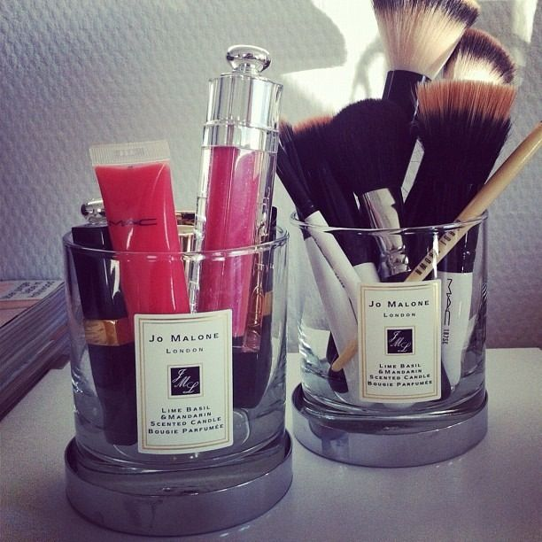 Home Scents Reusable Jo Malone Candles Matches Makeup MAC Makeup Brushes Upcycle Recycle