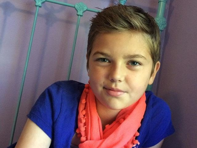 10-year-old's charitable act is met with bullying | haircuts, baby