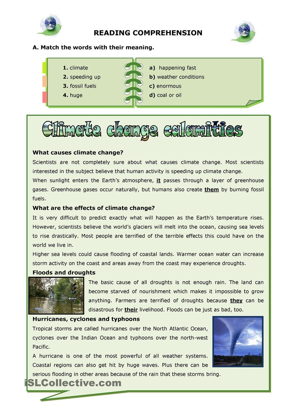 Climate Change Calamities Reading Pinterest Climate