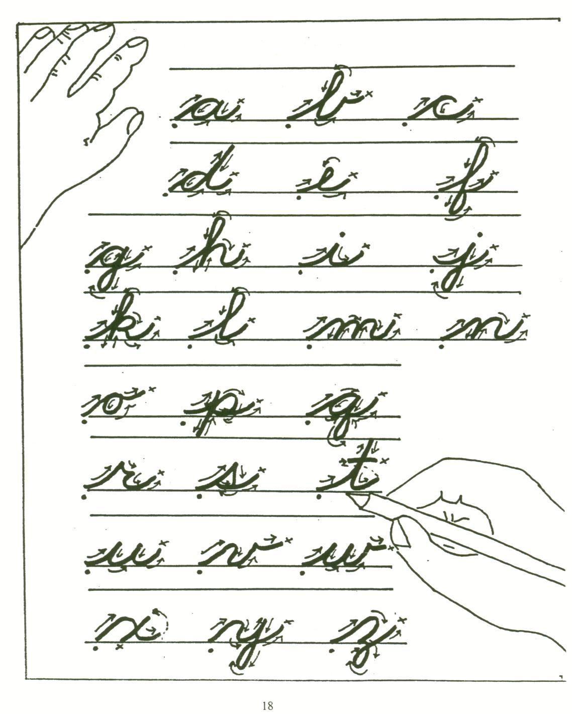 Practice Cursive Writing