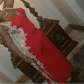 Red sheer gold prom dress gold prom dresses dress prom and prom