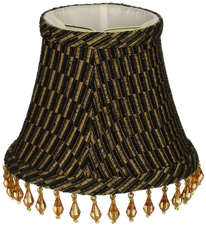 Lamp Chandelier Shades Upgradelights Set Of 6 Barrel 5 Inch Black Silk With