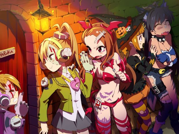 Image result for anime halloween
