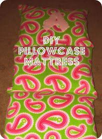 Bit Of Blue Sky Pillowcase Mattress Tutorial For Charlottes Reading Corner