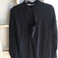 Black long sleeve dress shirt dress shirts plain black and
