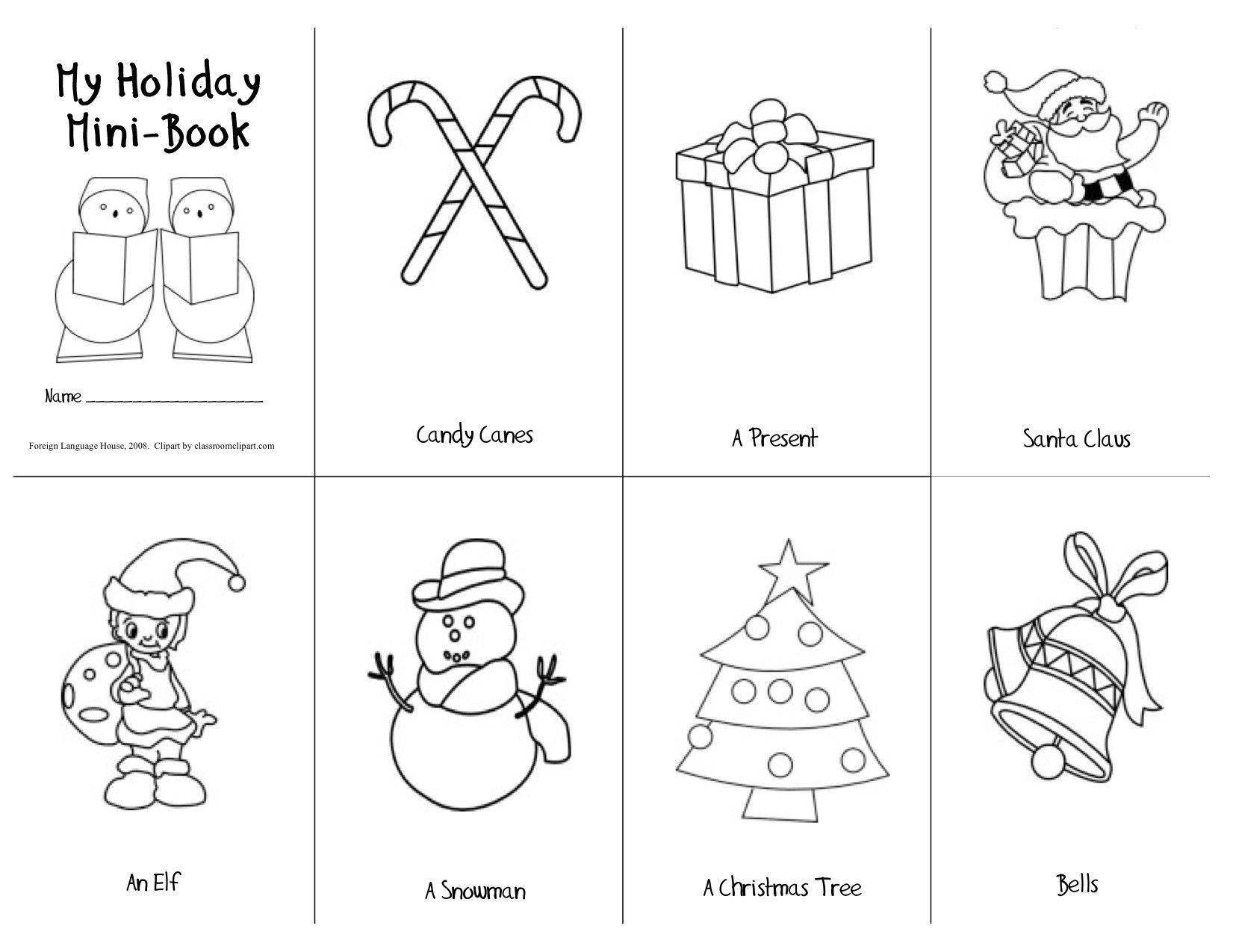 Christmas Material Printable Esl Material Vietnam