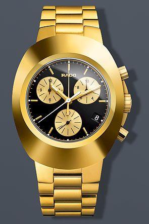 Rado Original Chronograph Gold Watch Mens Watches