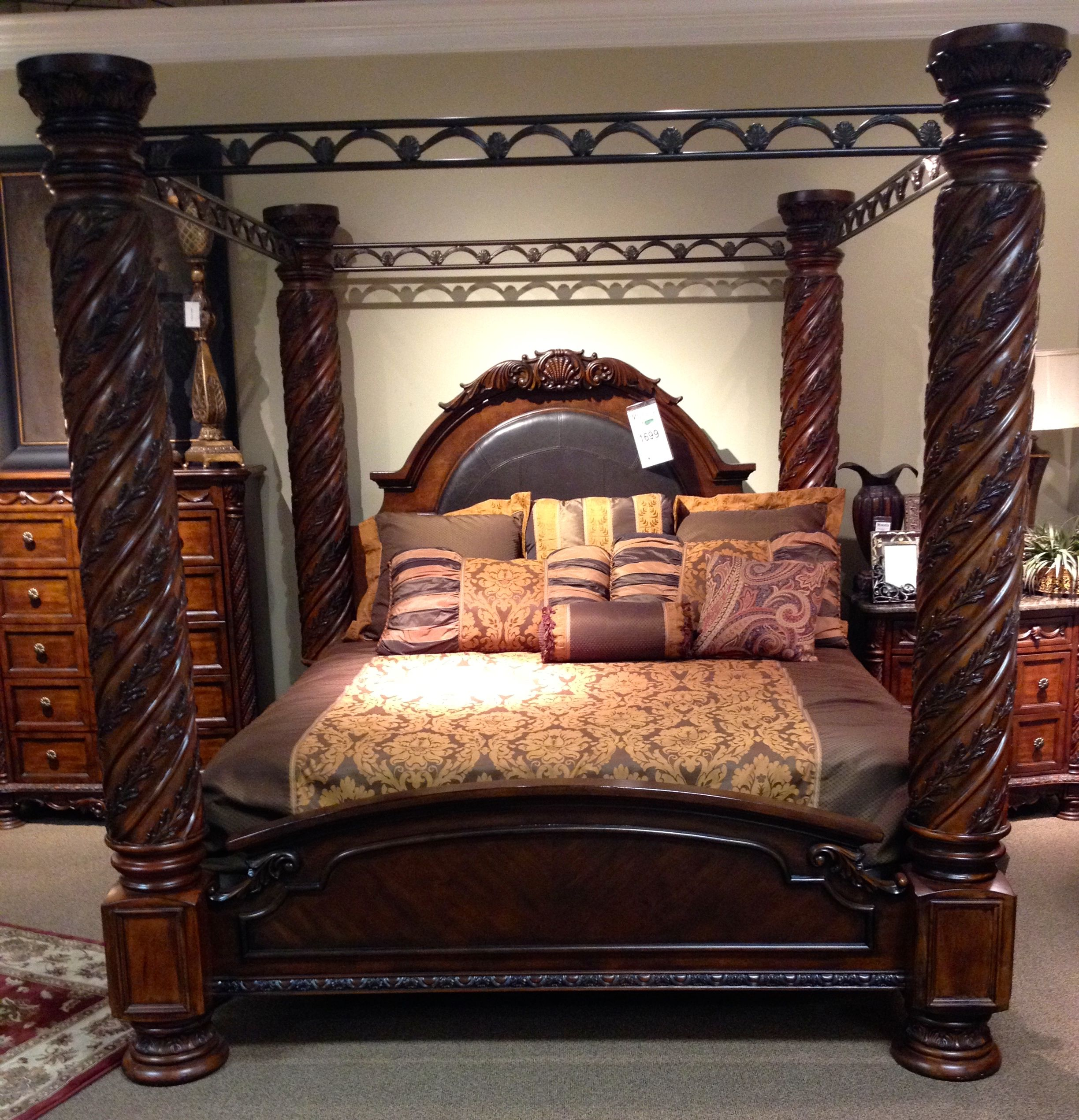 King Canopy Bed Miskellys I Have A Friend