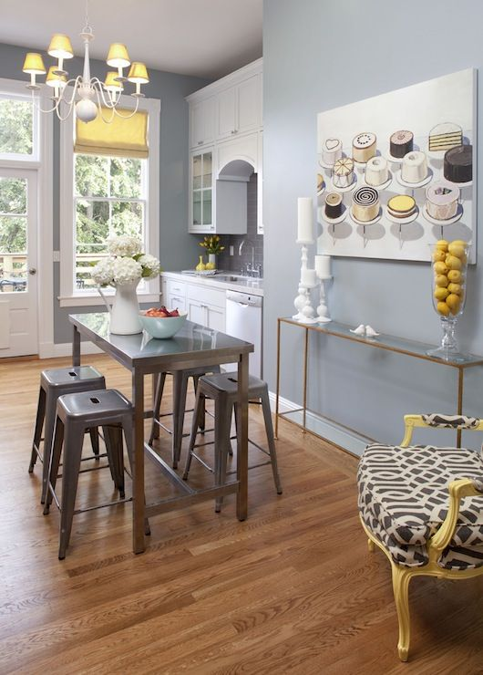 i m going to repaint my kitchen in these colors what you think grey and yellow for the on kitchen ideas yellow and grey id=98301