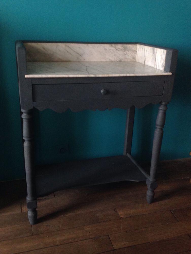 Table De Toilette Ancienne Avec Marbre Table De Toilette
