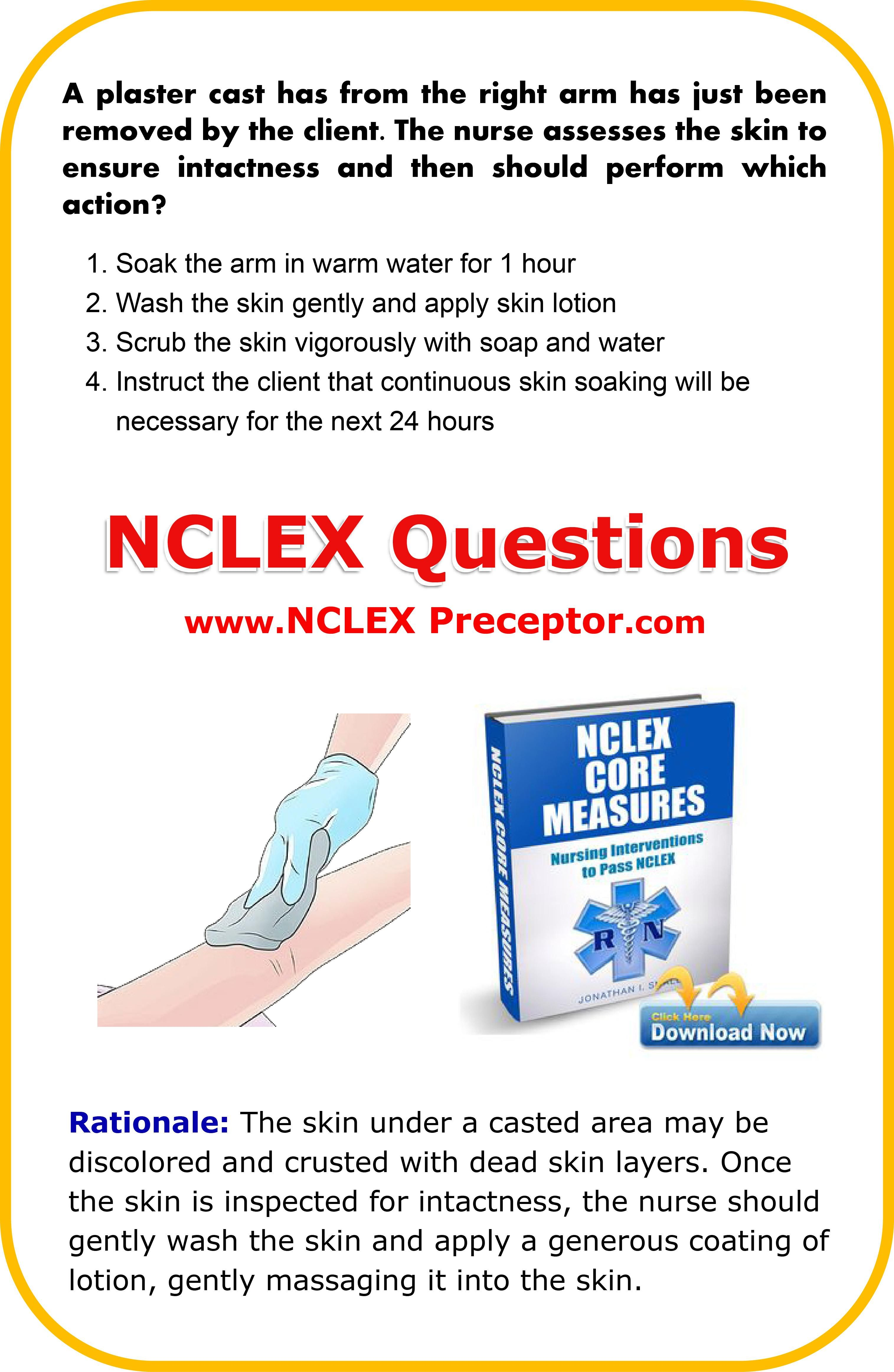 Free Practice Nclex Questions For Registered Nurses Get Nursing Tips To Give The Best