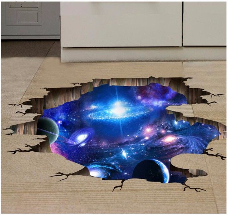 like and share if you want this 4 style 3d outer space on wall stickers for kids id=74724