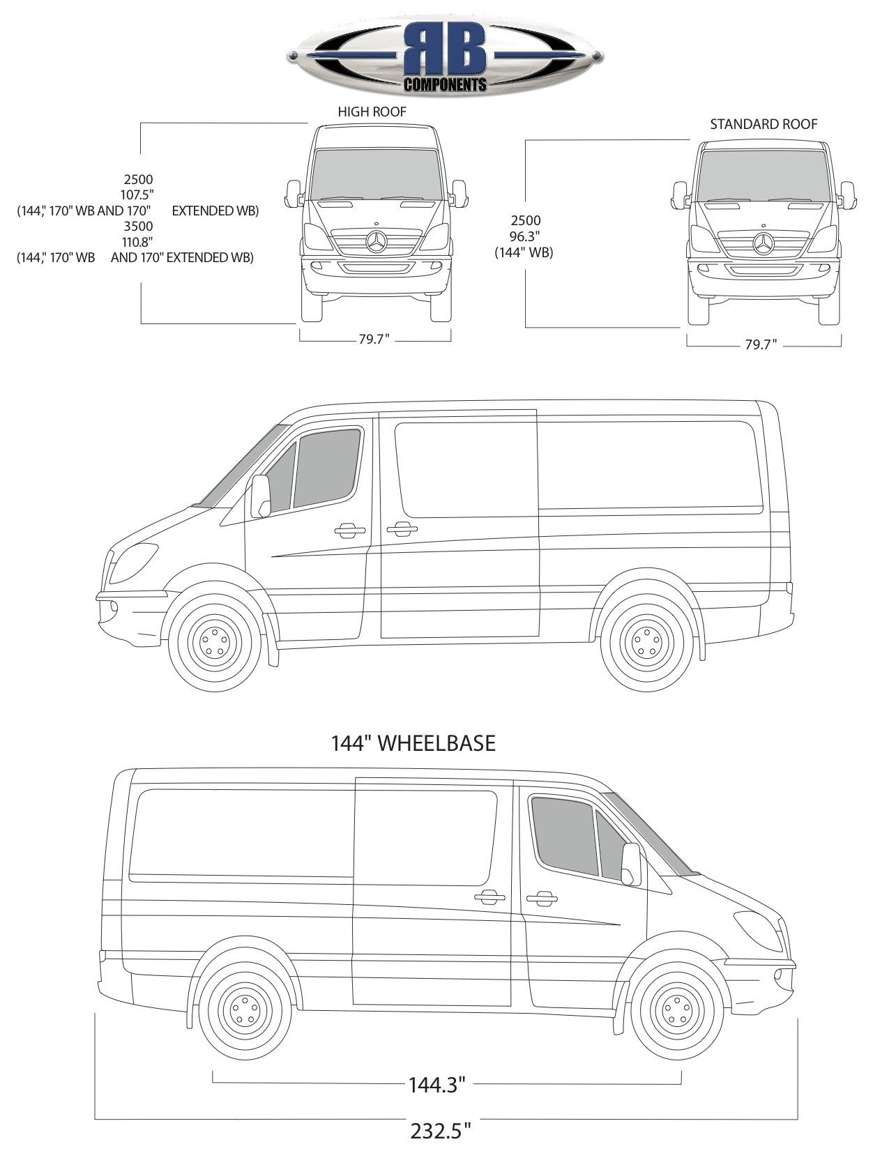 Sprinter Floorplan Templates