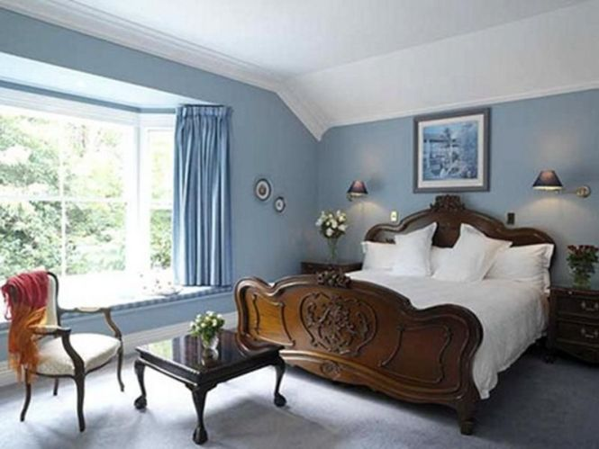 Home Interior Modern Small Bedroom Colors Pictures Best Paint Color For Walls With Blue