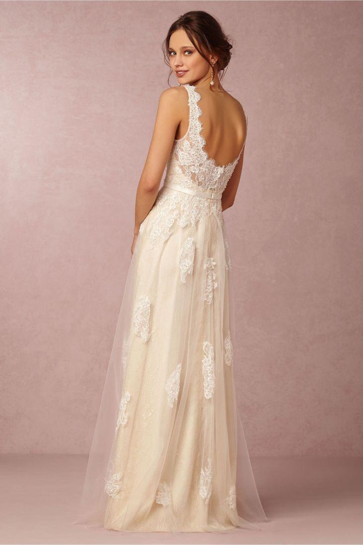 Georgia Gown in Bride Wedding Dresses at BHLDN Wedding dresses n