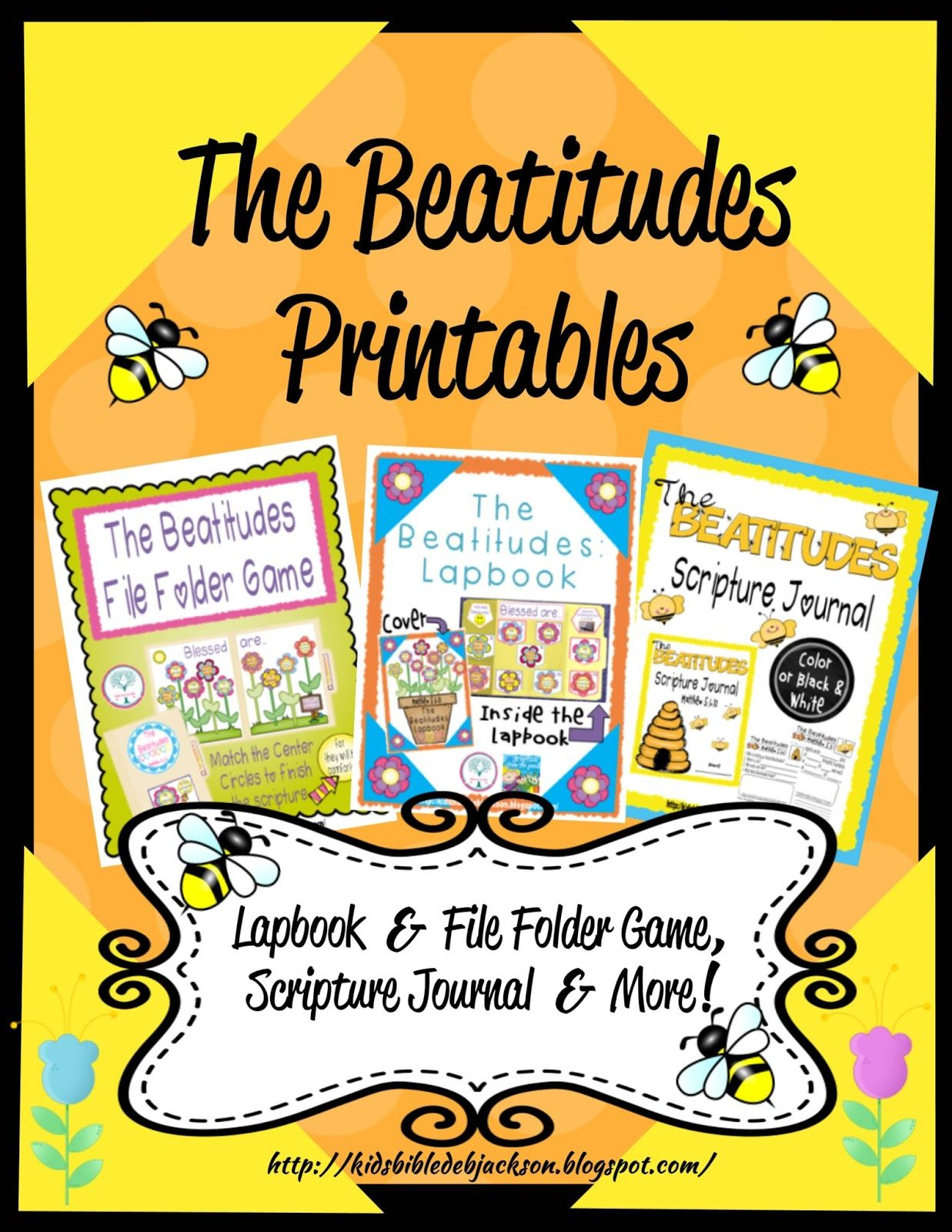 The Beatitudes Printables More Not Shown