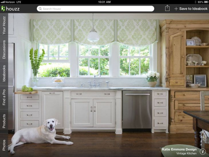 Window treatment  Breakfast Nook  Pinterest  Window Kitchens and
