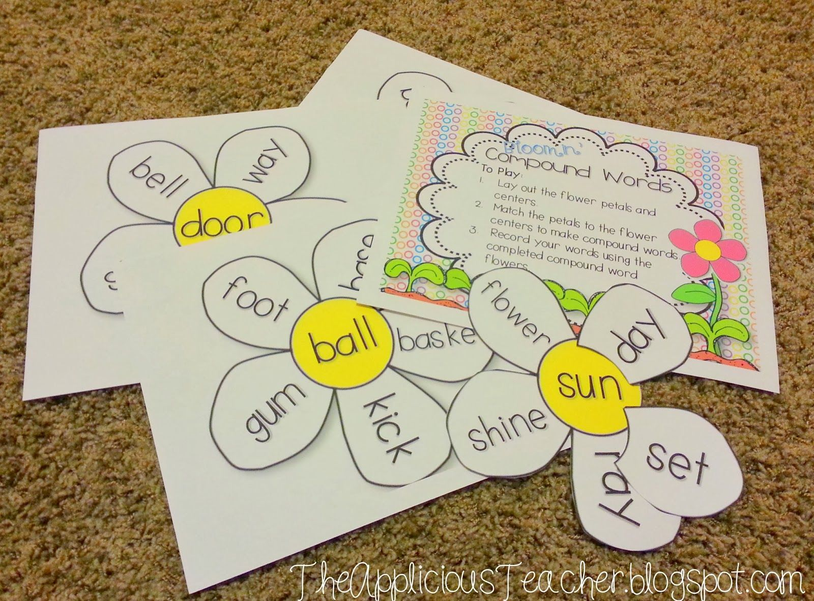 Best 25 Compound Word Activities Ideas