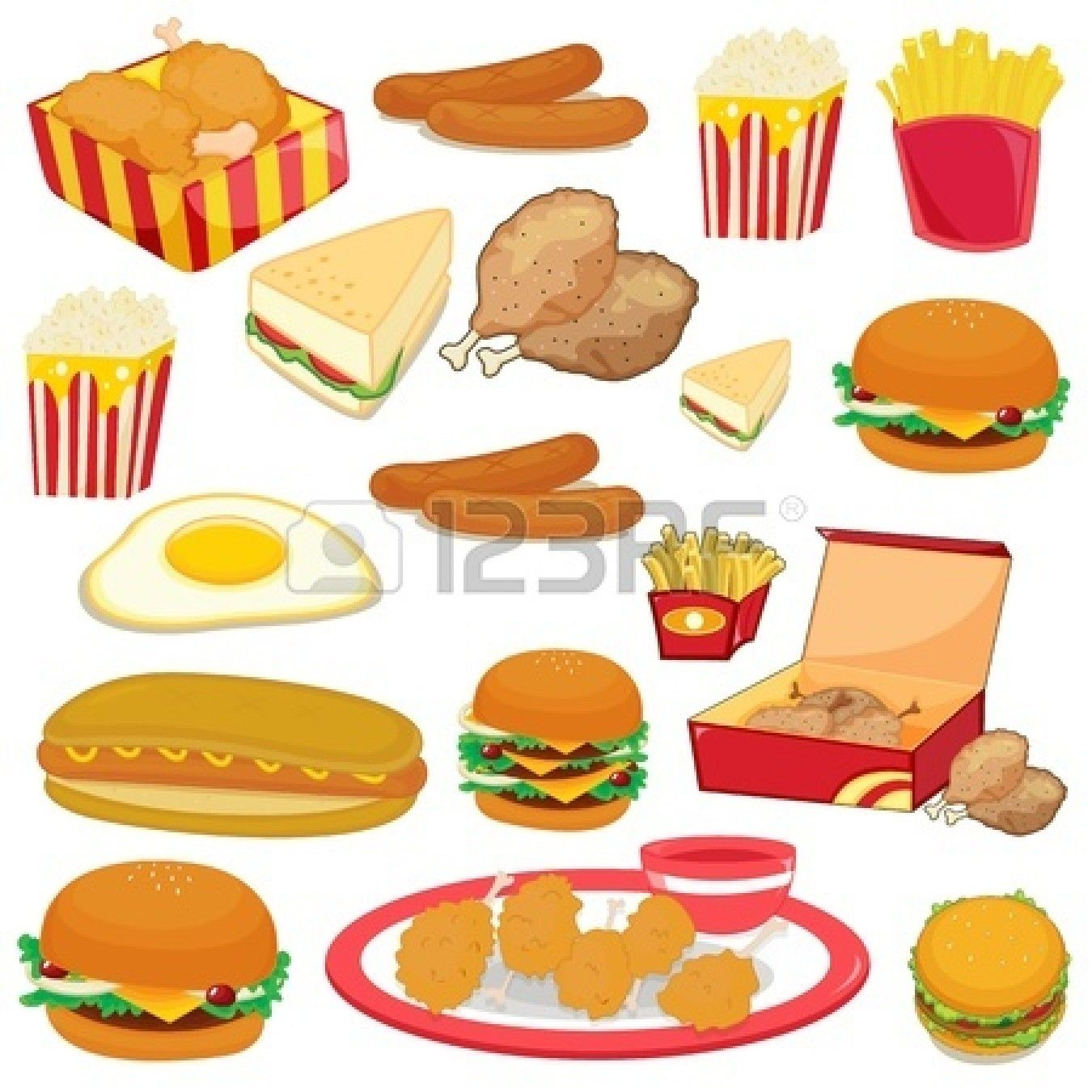Food Graphics Clip Art