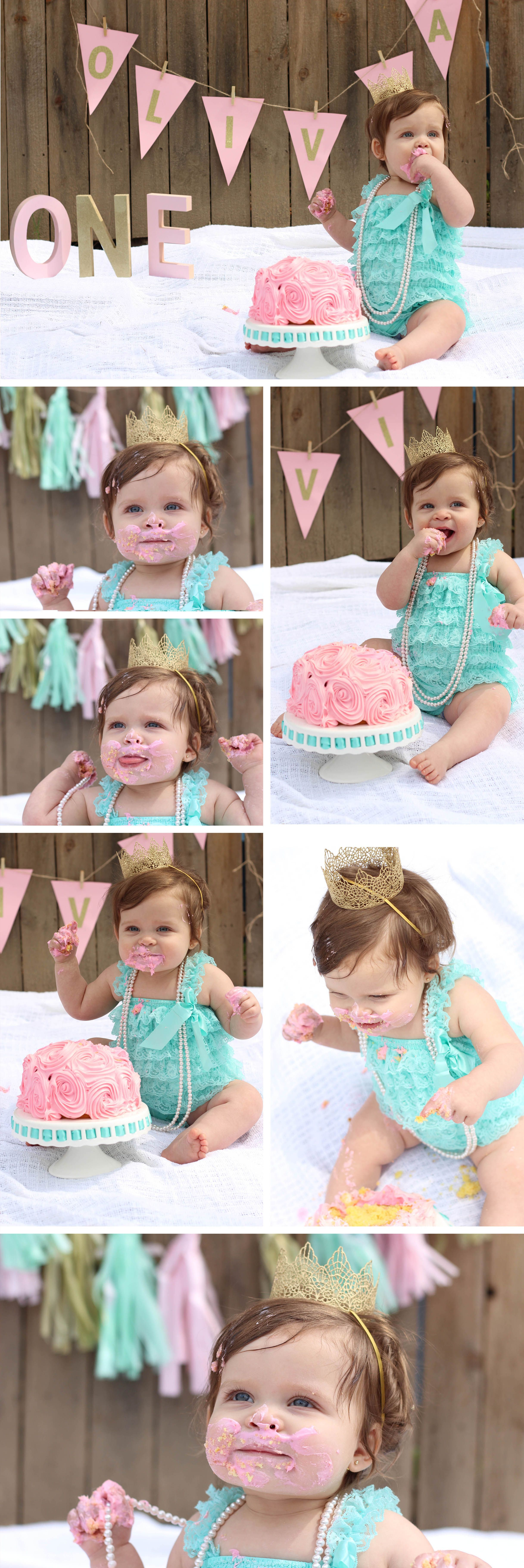 Diy First Birthday Cake Smash