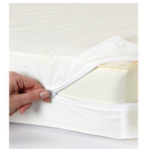 Vinyl Zippered Hypoallergenic Bed Bug Blockade Mattress Cover For King Size By Home Expression