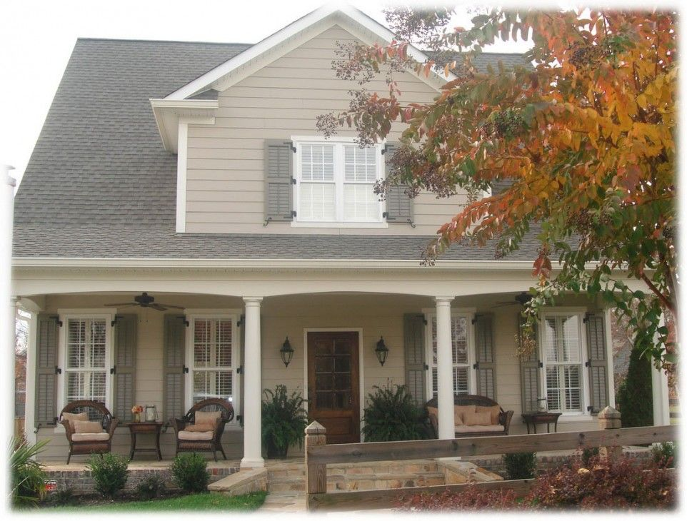 Exterior, Installing Exterior Shutters Give Attractions