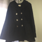 Black michael kors pea coat michael kors michael kors jackets and