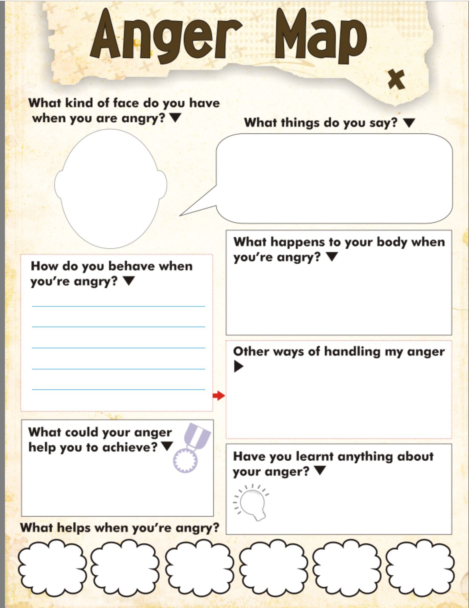 Codependency Anger Worksheet