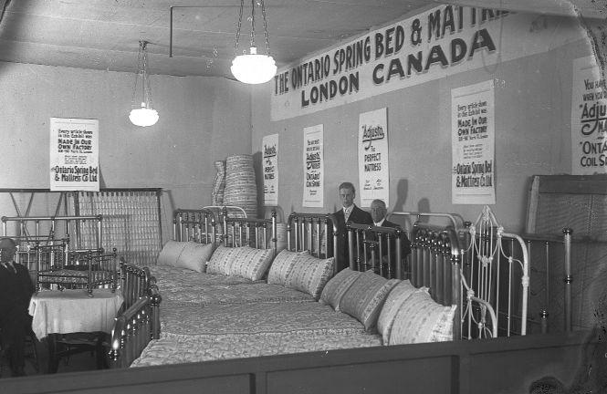 Ontario Spring Bed Mattress Booth C 1922 Western Fair