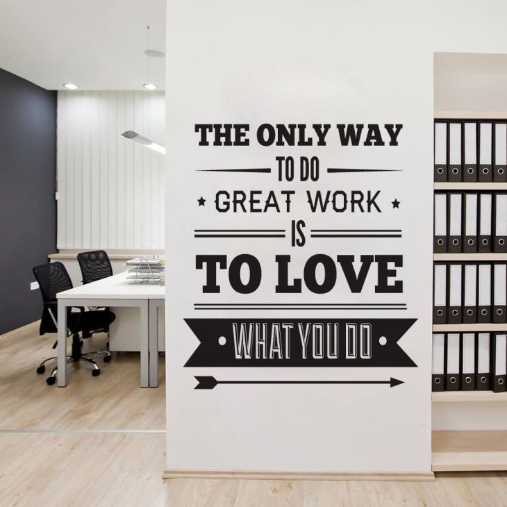 The Only Way to Do Great work is to Love What you Do  Inspirations
