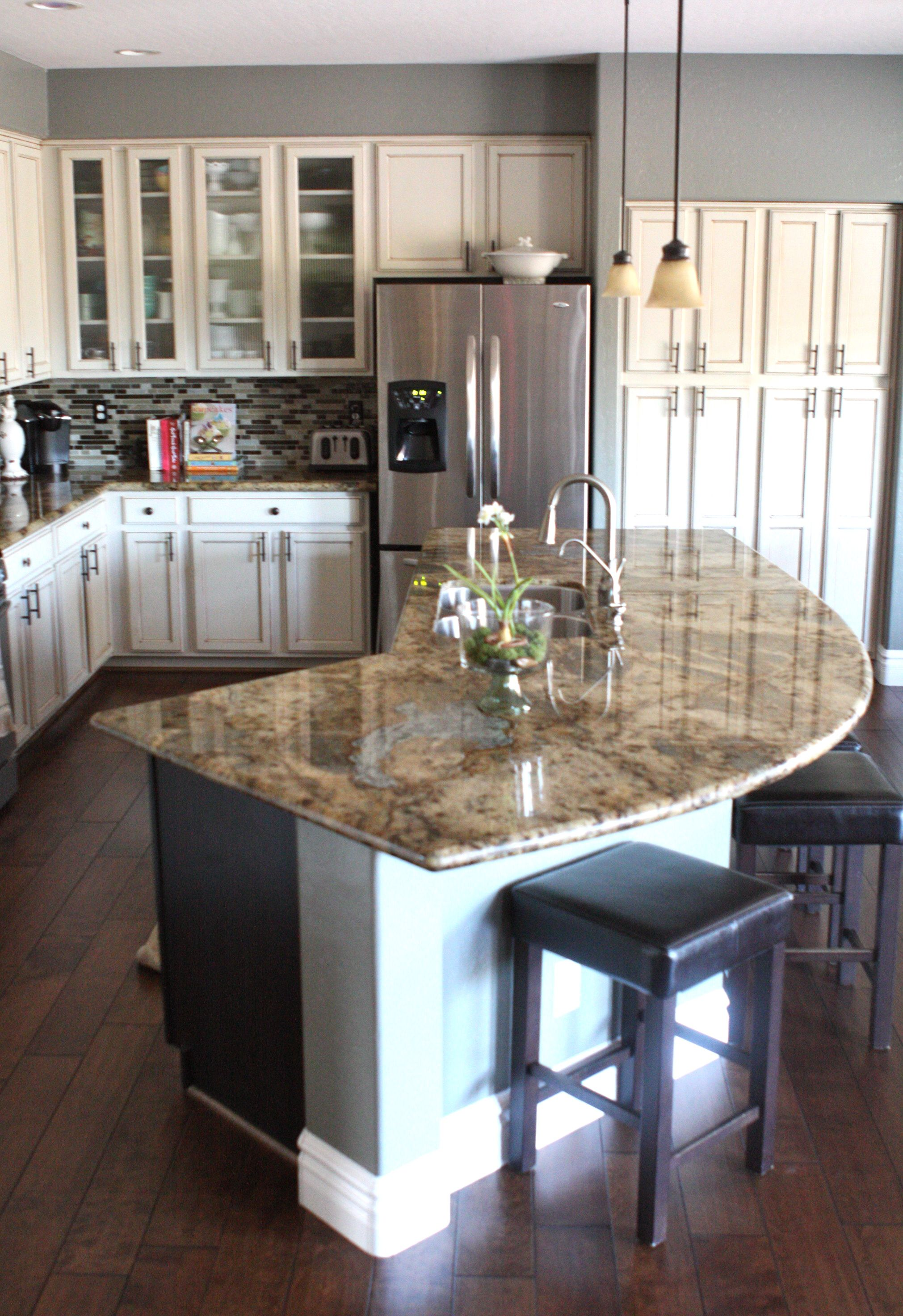 i ve always said i want an area my children can sit at and tell me about their day while i fix on kitchen island ideas kids id=61374