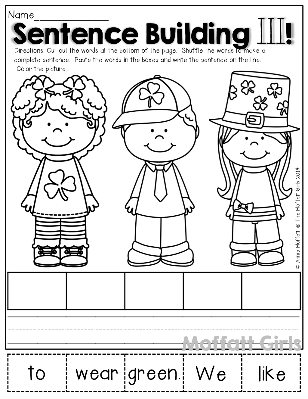Kindergarten Worksheets Scrambled Sentences Kindergarten Best Free Printable Worksheets
