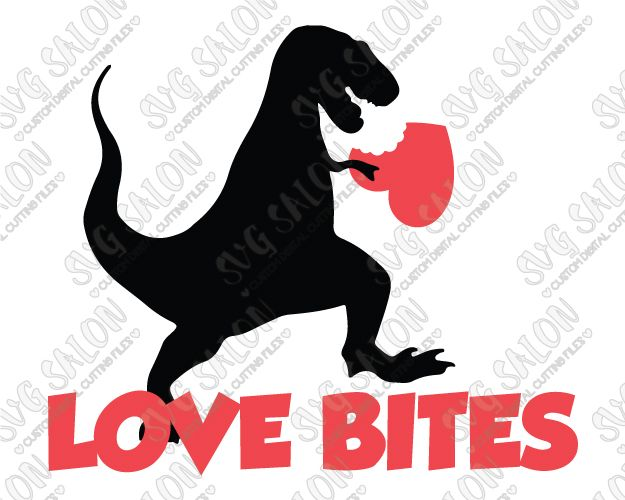 Download Love Bites Boy's Valentine's Day Shirt SVG Cut File Set ...