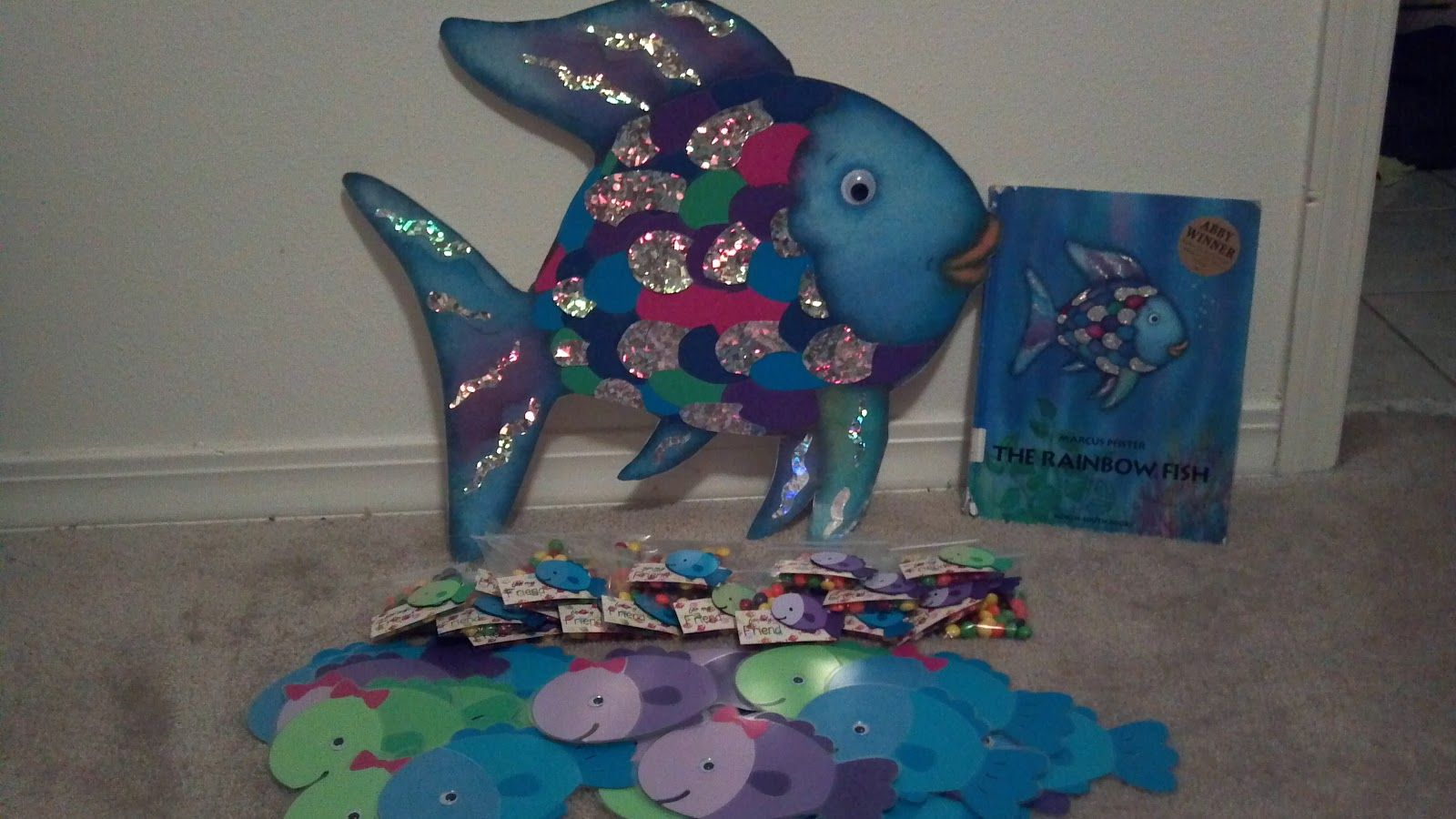 Rainbow Fish Mini Lesson
