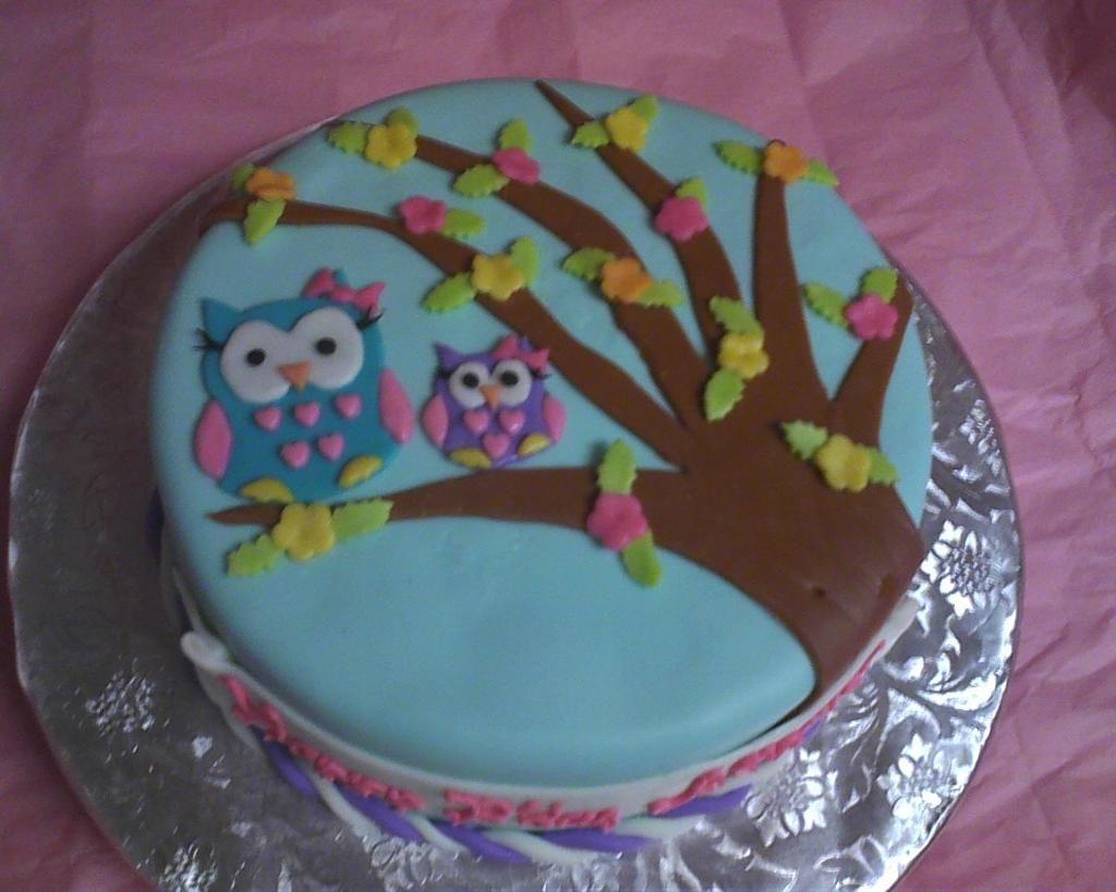 Owl Fondant Pattern