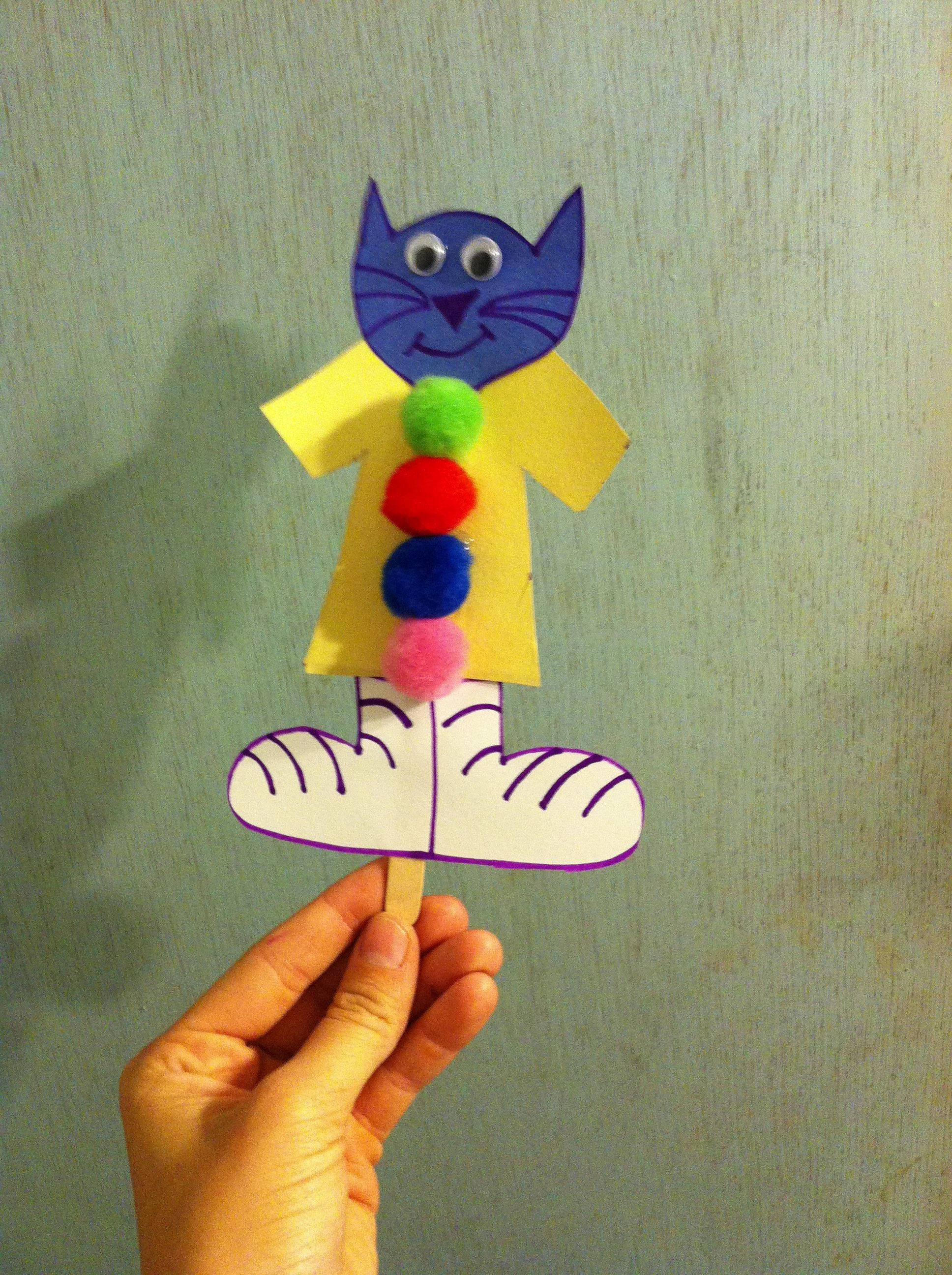 Pete The Cat Activity For Kindergarten