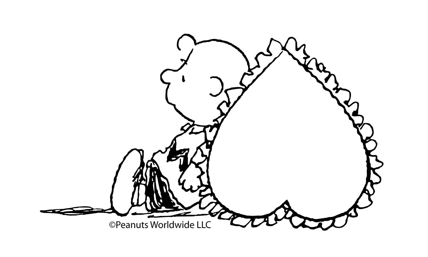 A Valentine S Heart For Charlie Brown 5