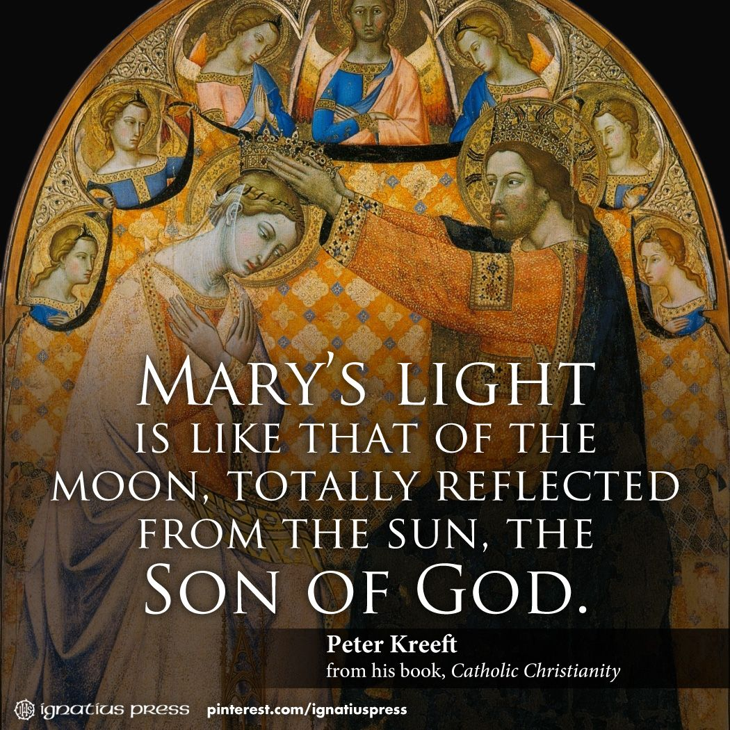 Dr Peter Kreeft On The Blessed Virgin