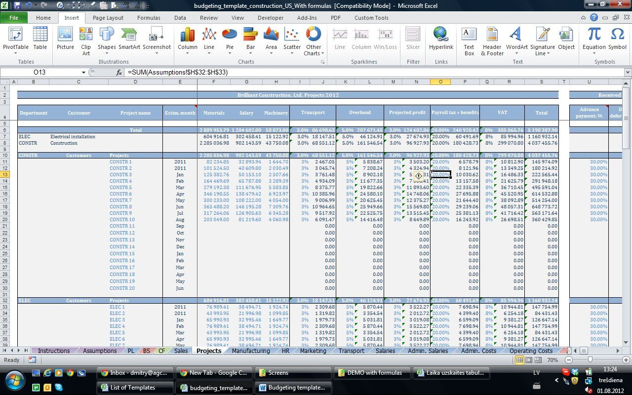 Finance And Accounting Templates
