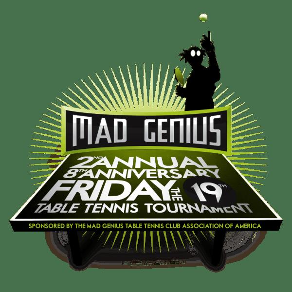 2013 Table Tennis tournament logo   Genius Culture ...