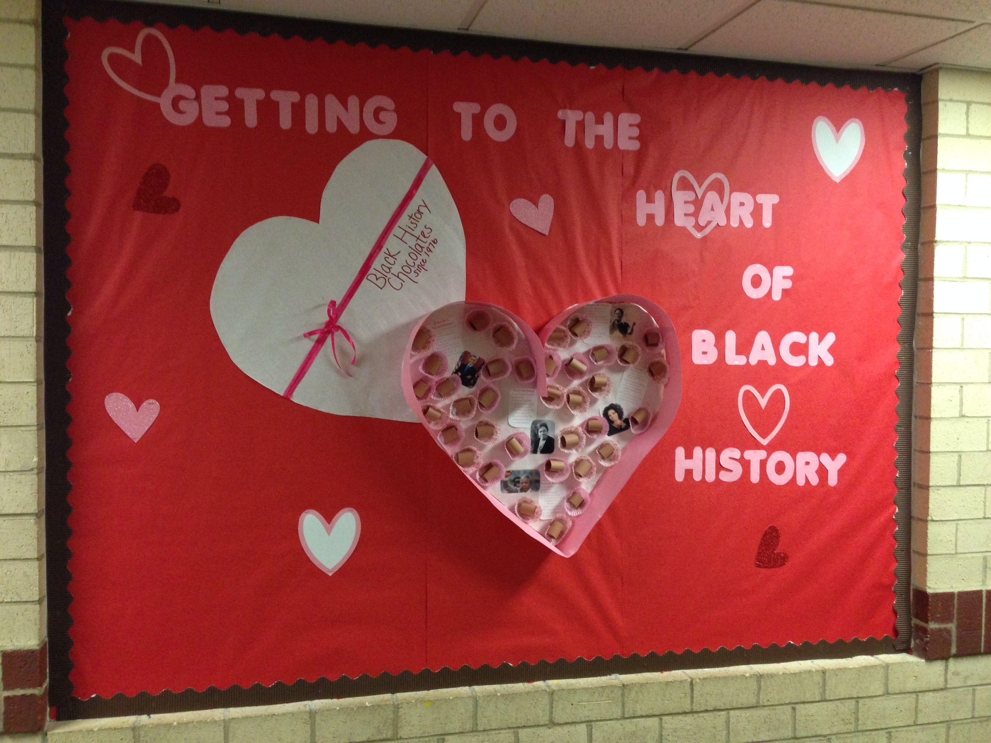 Feb 22nd Valentine Black History Bulletin Board