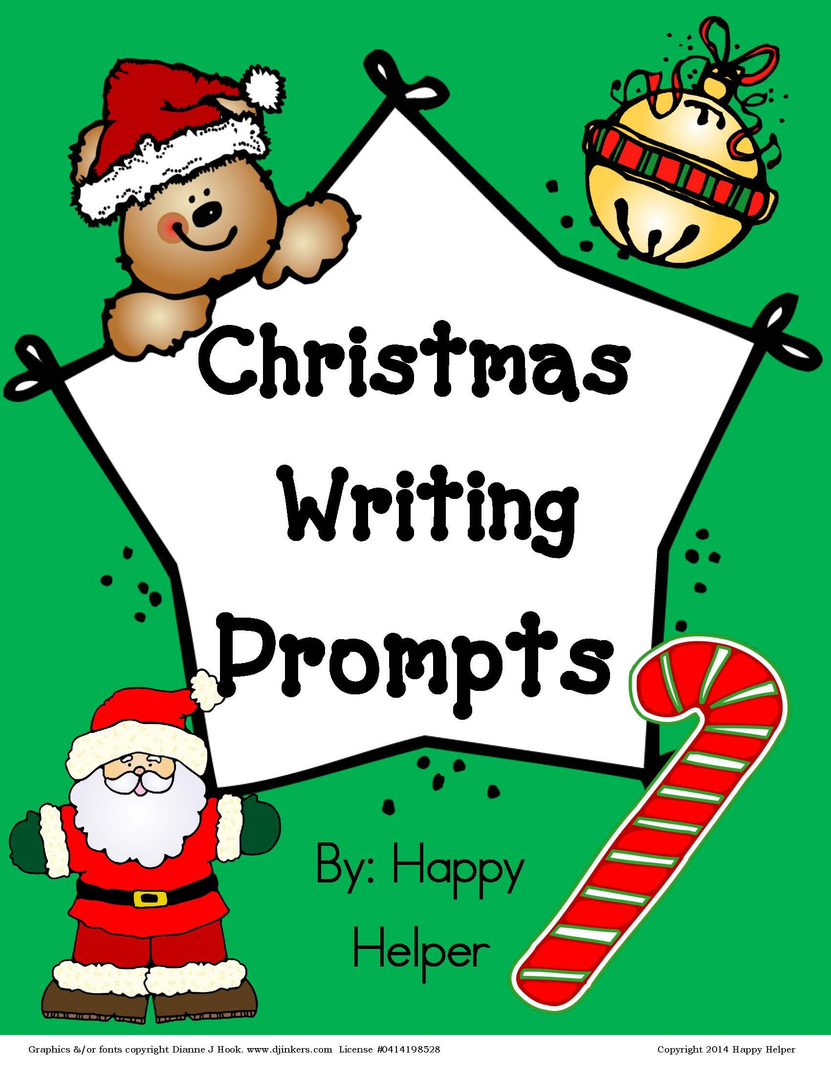 Free Writing Prompts For Christmas Students Love To
