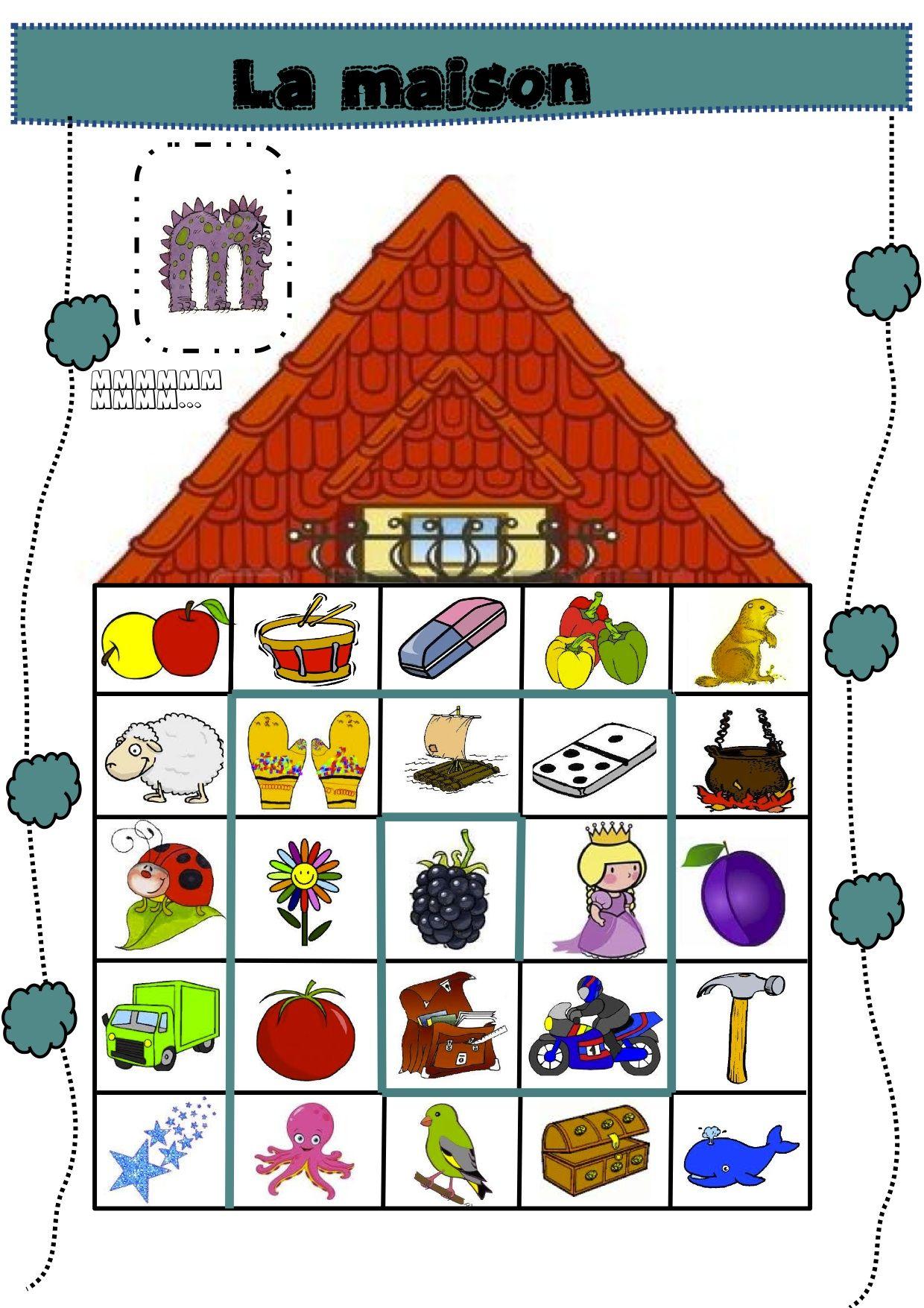 La Maison Et Autres Jeux De Phonologie
