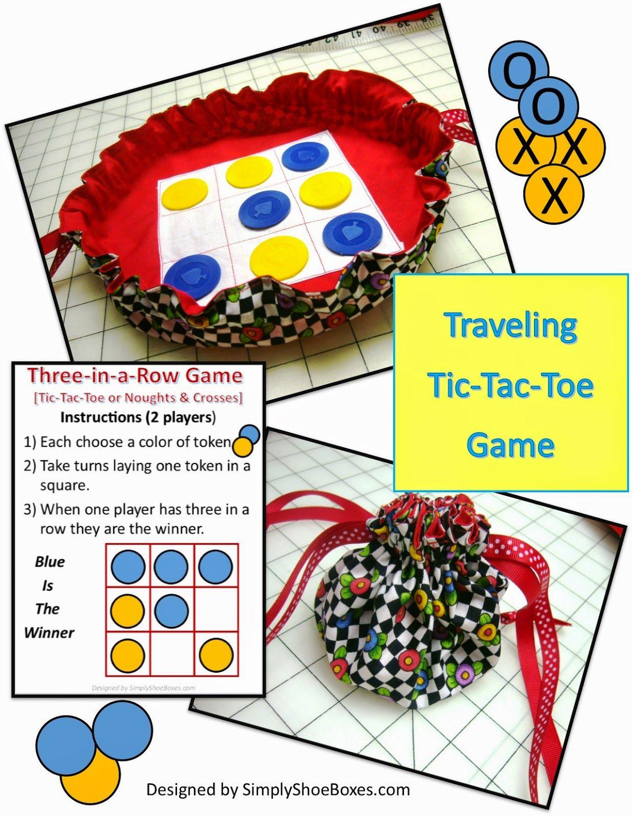 Travel Tic Tac Toe Game Tutorial Or Noughts Amp Crosses