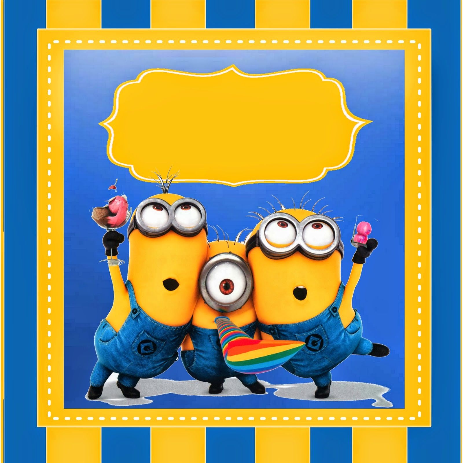 Despicable Me 2 Free Printable Kit